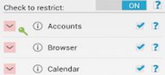 XPrivacy Pro app UI