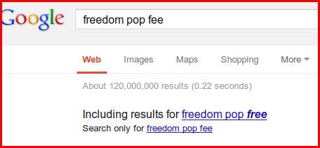 google paid to steer potential clients away from freedompops hidden fees