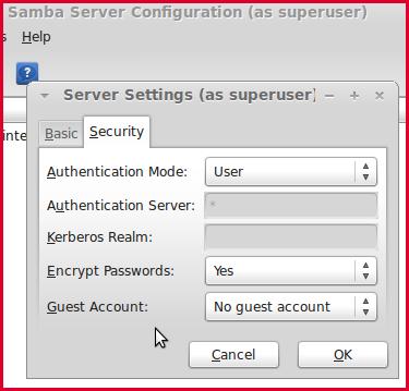 ubuntu samba server