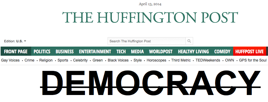 huffingtonpost longs for tyranny to make everyone accept deviancy and lies as truth