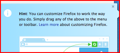 customize firefox to work the way you do so long as its what mozilla allows