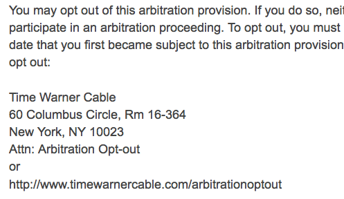 TWC_fake_arbitration_opt_out