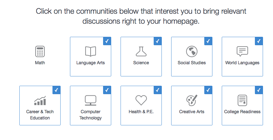 edmodo new school fabrication pick malleable topics