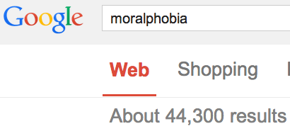 moralphobia 44,000 uses now wikipedia notable