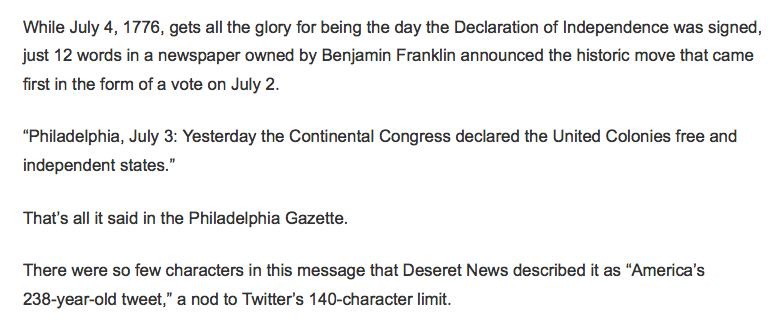 too ignorant to be free describing franklin newspaper to twit tweeting imbeciles bereft of social fabric