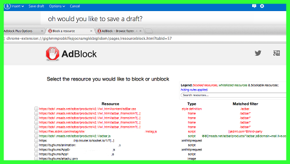 oh would you like to save an outlook webmail draft too bad resource viewing is such masochism