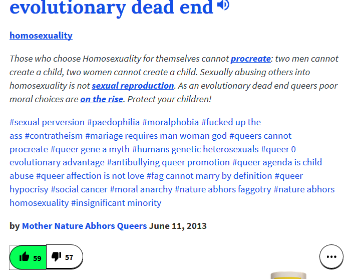 homosexuality is an evolutionary dead end