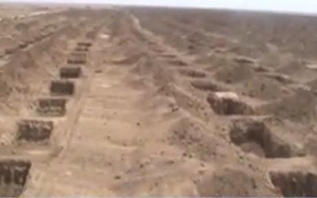 irans mass graves