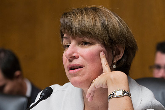 no clue bitch are amy klobuchar