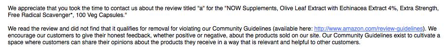 amazon community management entirely worthless