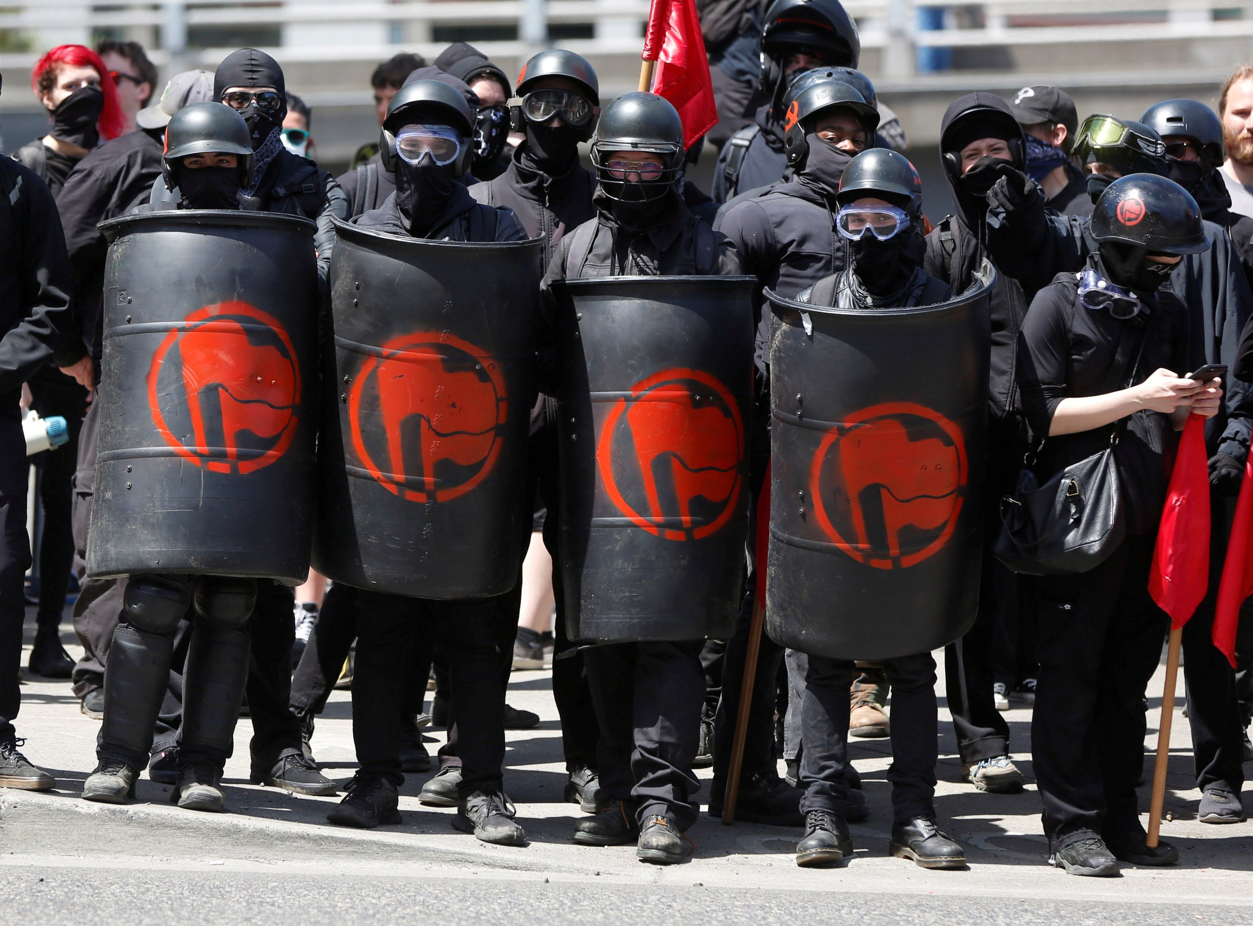peacefullyprotestyou into submission jihad style antifa style brownshirt style
